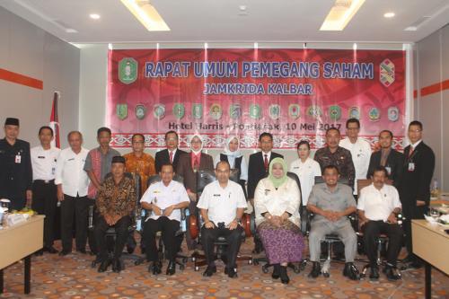 RUPS Ke-2 PT. Jamkrida Kalbar